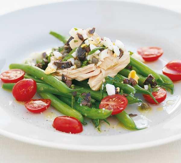 Салаты с консервированным тунцом и фасолью, вкусные лёгкие рецепты