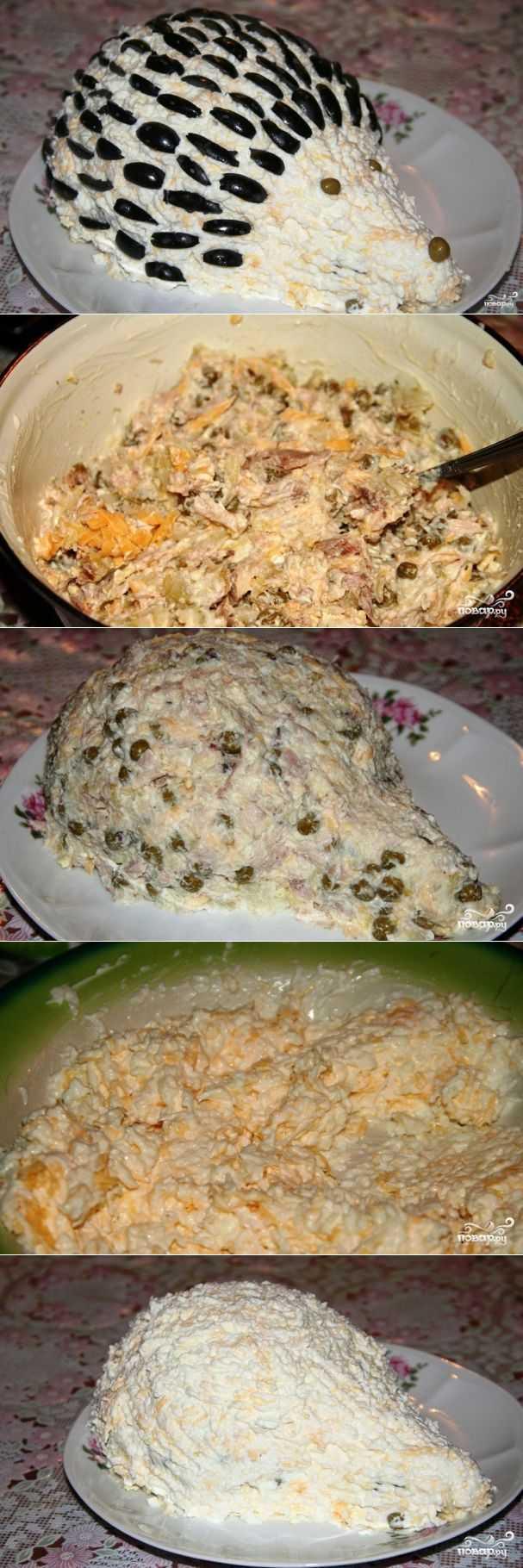 Салат из курицы с ананасами классический рецепт с фото пошагово и видео - 1000.menu