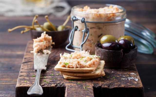 Готовим паштет из тунца: рецепты с фото