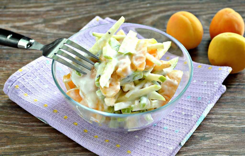 Фруктовый салат: рецепты с фото