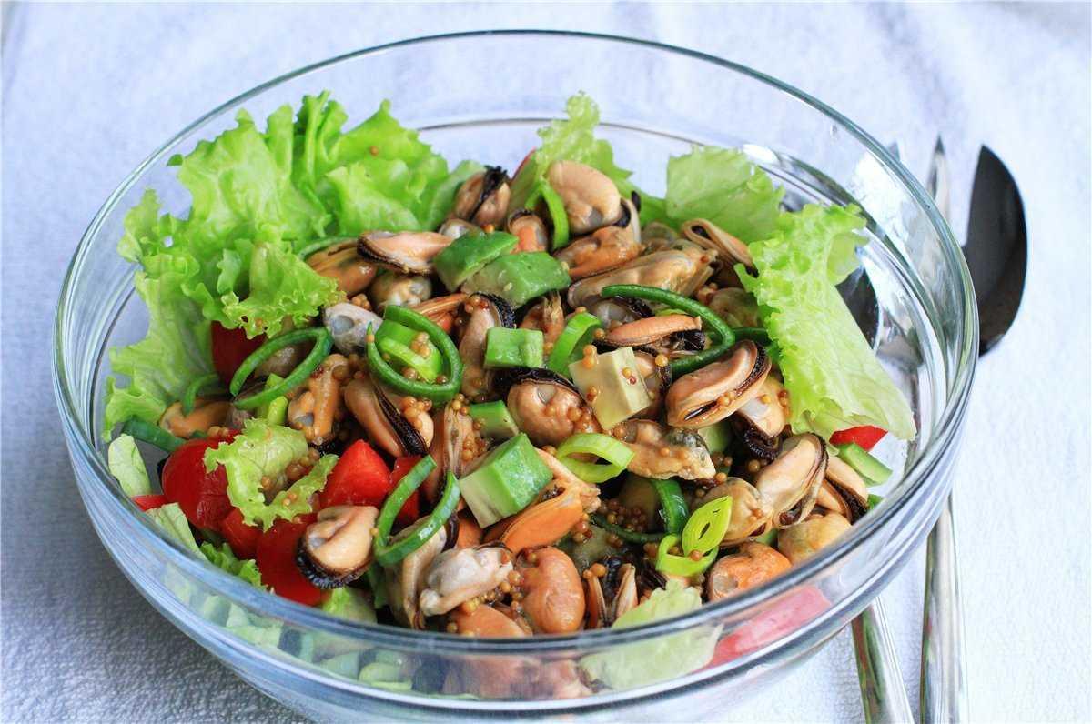 Как приготовить салат с мидиями без яиц: поиск по ингредиентам, советы, отзывы, подсчет калорий, изменение порций, похожие рецепты