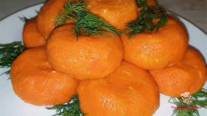 Закуска мандарины: пошаговые рецепты с фото, острая, из сыра, с морковью - агрономия