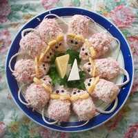 Как приготовить закуску рафаэлло из крабовых палочек по рецепту с фото