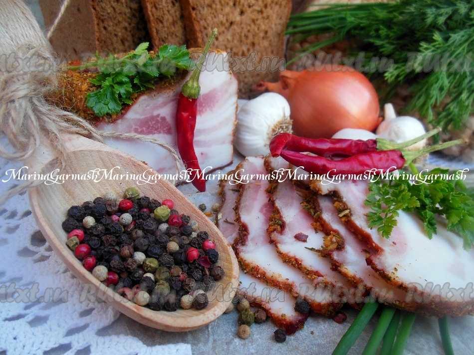 Варено копченое сало: рецепт приготовления в домашних условиях