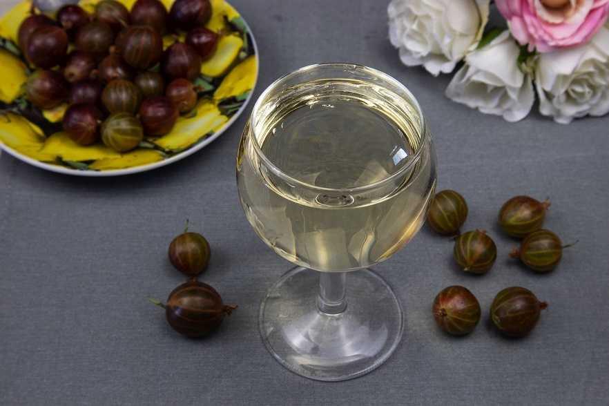 Вино из крыжовника – самый лучший рецепт, настойка, наливка