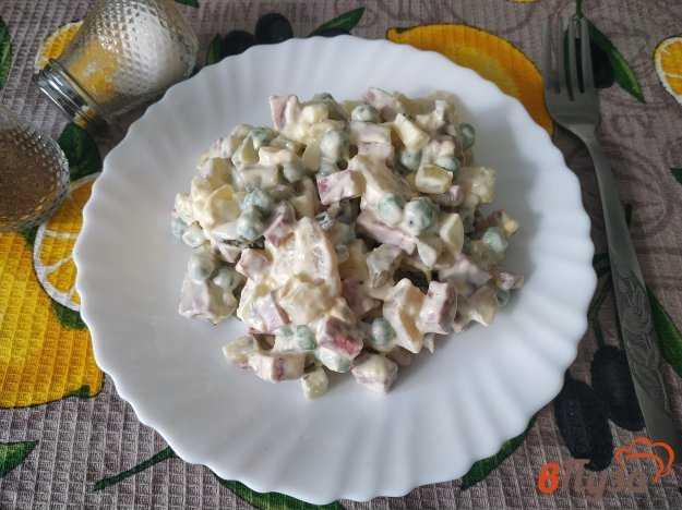 Салат столичный классический - рецепт с курицей пошаговый с фото   ne-dieta