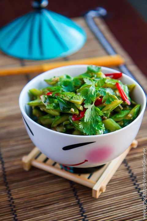 """""""битые огурцы"""" - самая вкусная азиатская закуска"""