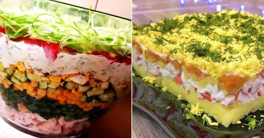 Салат с форелью слабосоленой – 10 очень вкусных рецептов (фото)