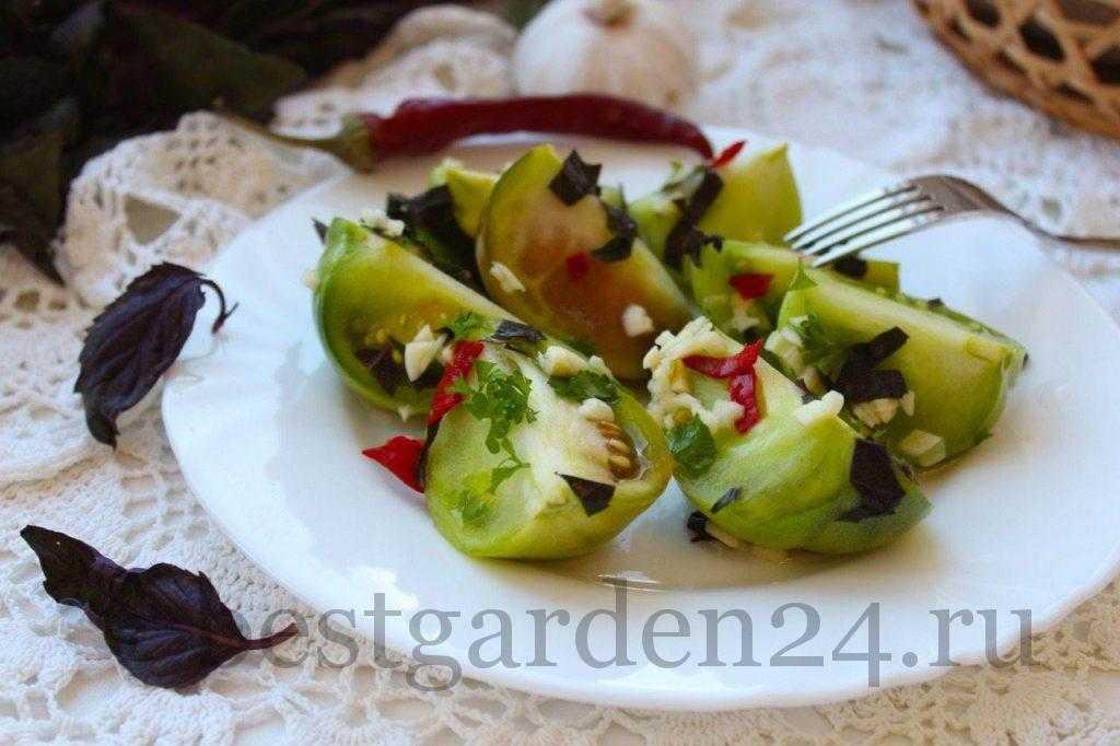Квашеные помидоры в кастрюле на зиму: рецепт с фото