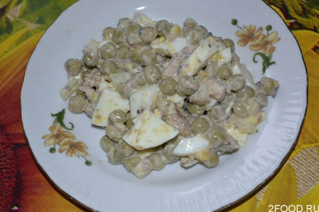 Салат из сайры консервированной с яйцом и рисом рецепт с фото пошагово - 1000.menu