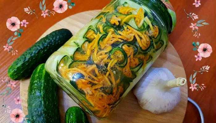 Огурцы по-корейски на зиму – самый вкусный рецепт (с приправой для корейской моркови)