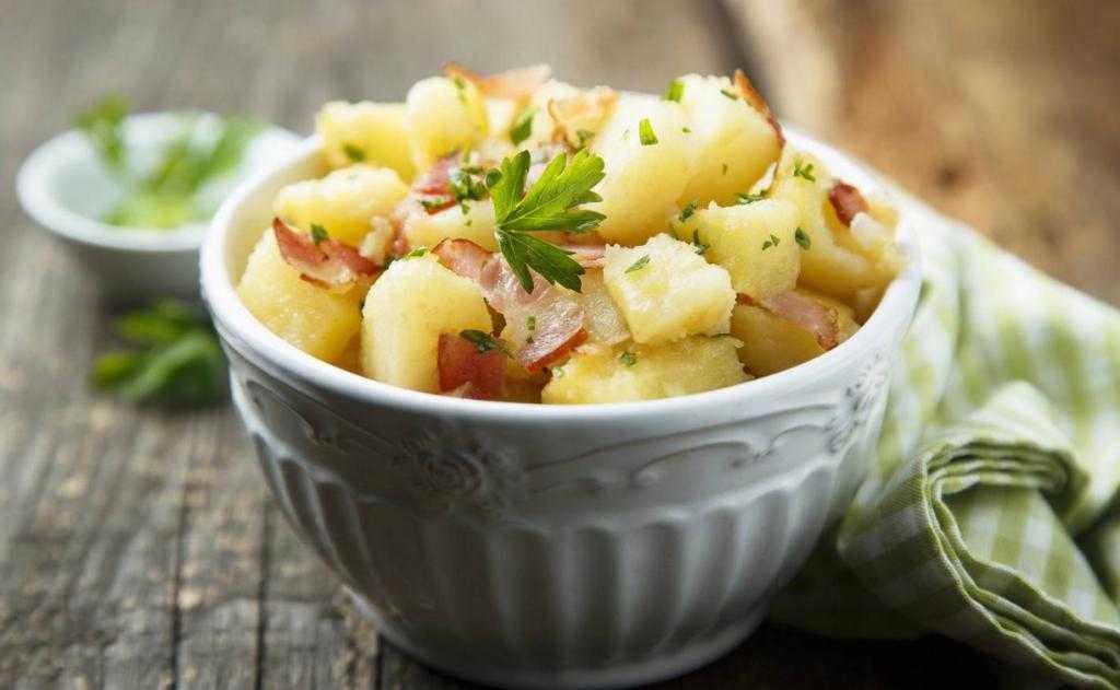 ᐉ классический американский и немецкий картофельный салат