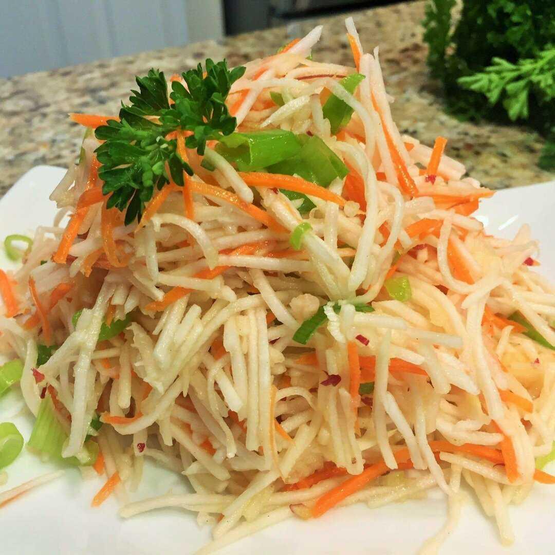 Антивирусный салат из зеленой редьки: 12 рецептов — самый смак