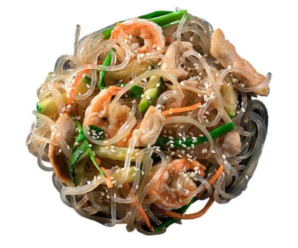 Рисовая лапша с курицей и овощами рецепт с фото пошагово и видео - 1000.menu