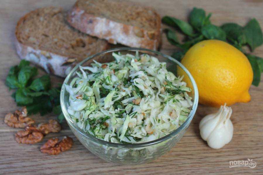 Салат с куриной грудкой и орехами грецкими рецепт с фото пошагово - 1000.menu