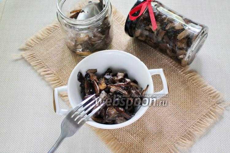 Маринованные шампиньоны – 9 очень вкусных рецептов быстрого приготовления с фото и пошаговым описанием