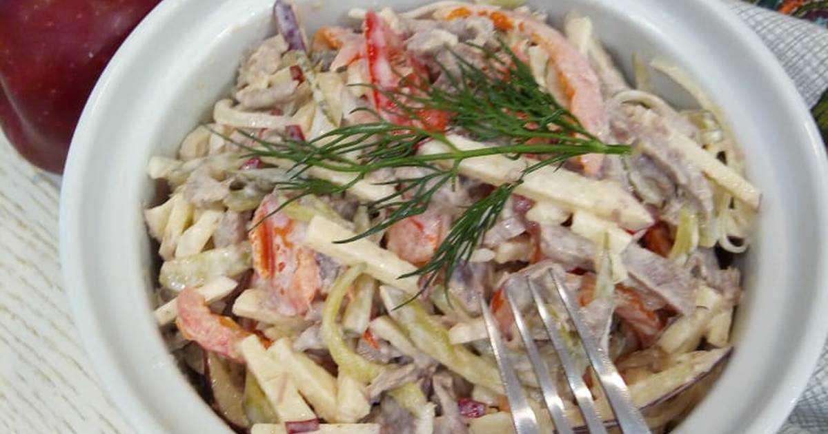 Салаты прага и салат пражский - 8 рецептов приготовления пошагово - 1000.menu