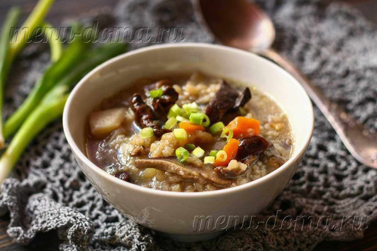 Суп-пюре из сушеных грибов: рецепт из белых сортов со сливками, а также, как приготовить грибной супчик с картофелем?