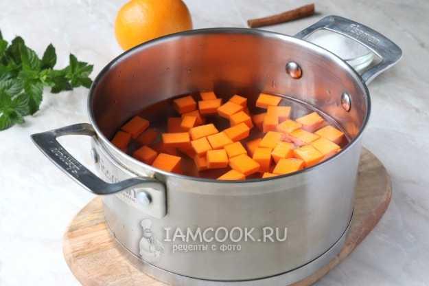 Янтарное солнце в банке: готовим на зиму компот из тыквы под ананасы