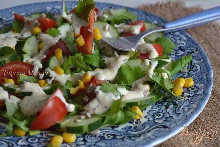 Рецепты лёгких летних салатов