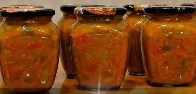 Икра из кабачков и баклажанов на зиму - 21 пошаговое фото в рецепте