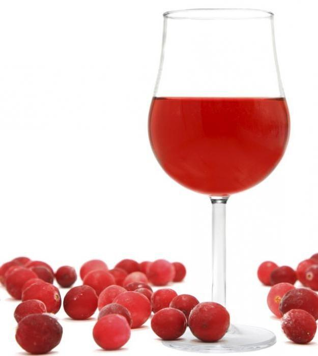 Вино из клюквы - скороспел