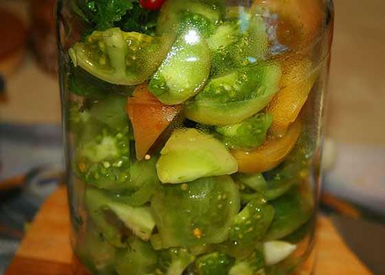 Рецепт зеленых помидоров без уксуса: особенности приготовления.