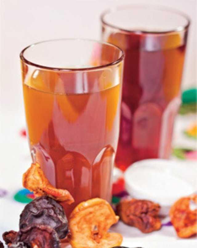 Компот из сушеных яблок: калорийность продукта, рецепт приготовления в домашних условиях, польза и вред для здоровья