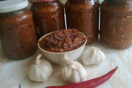 Аджика сладкая на зиму рецепт с фото пошагово - 1000.menu