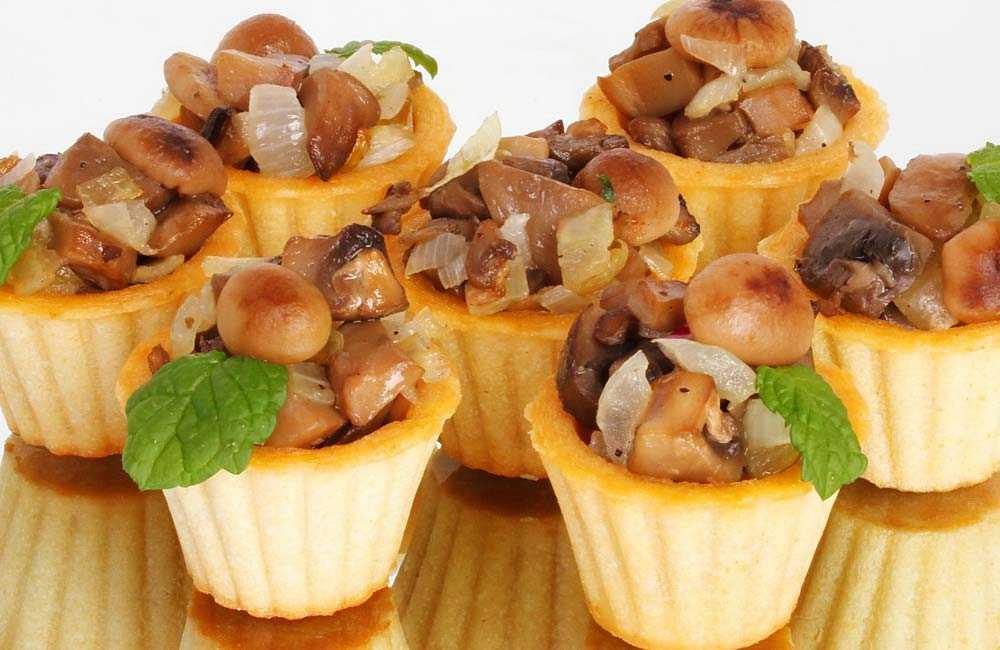 Салат в тарталетках: 11 простых рецептов вкусных салатов