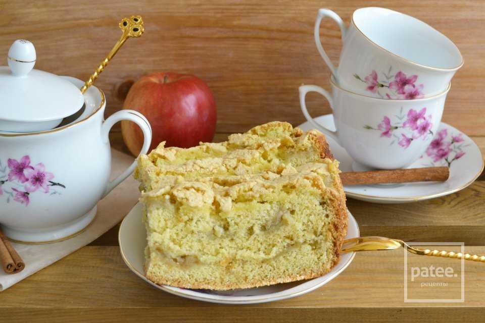 Пирог с яблоками и бананами: пошаговые рецепты с фото для легкого приготовления