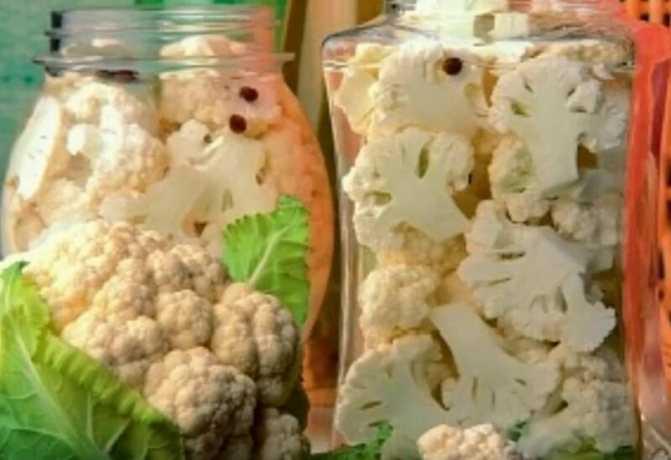 Маринованная цветная капуста — очень вкусно. рецепты приготовления