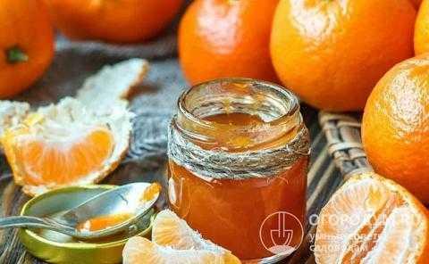 Варенье из мандаринов (дольками, с кожурой): рецепты с фото