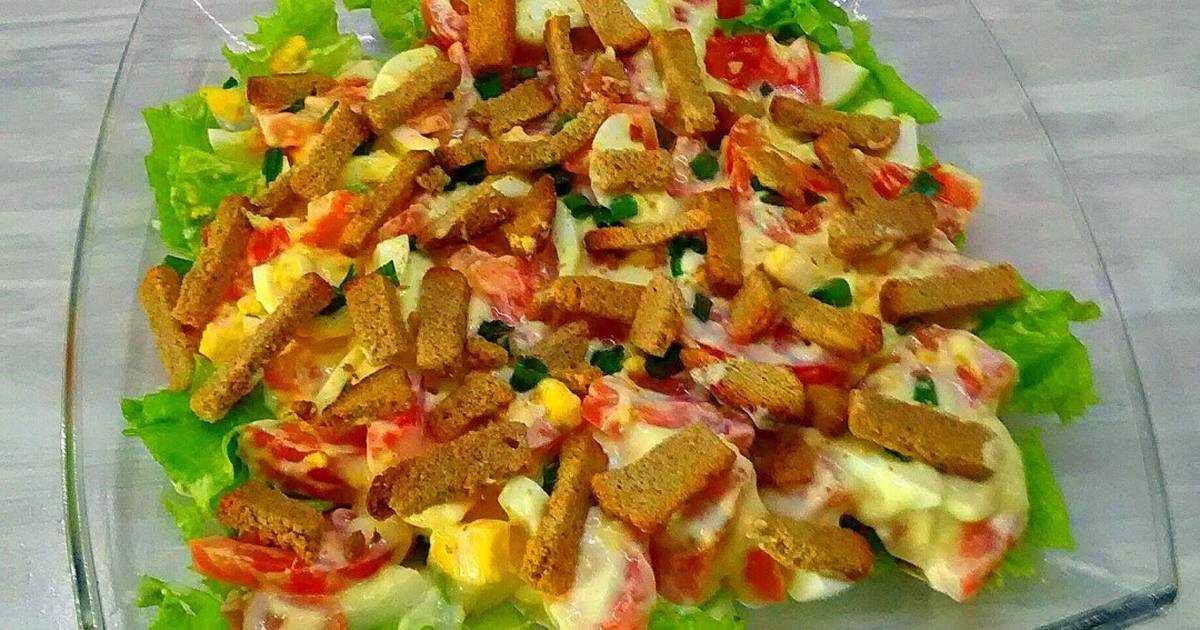 Салат с фасолью и копченой колбасой — рецепты на любой вкус