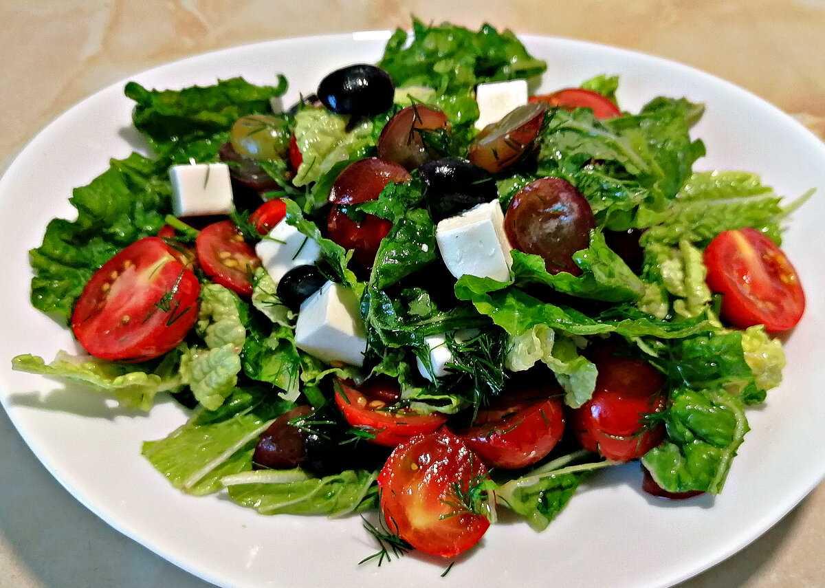 Готовим овощной салат с фетой: поиск по ингредиентам, советы, отзывы, пошаговые фото, подсчет калорий, удобная печать, изменение порций, похожие рецепты