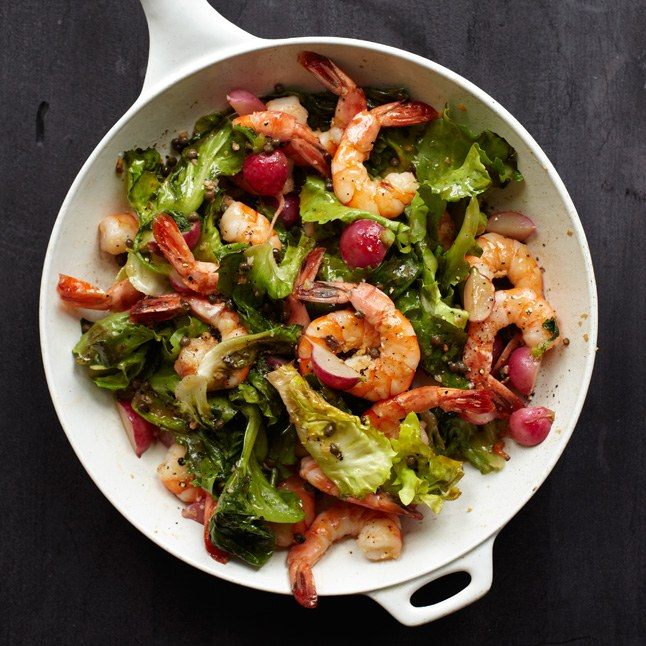 Теплый салат с креветками и морепродуктами рецепт с фото пошагово - 1000.menu