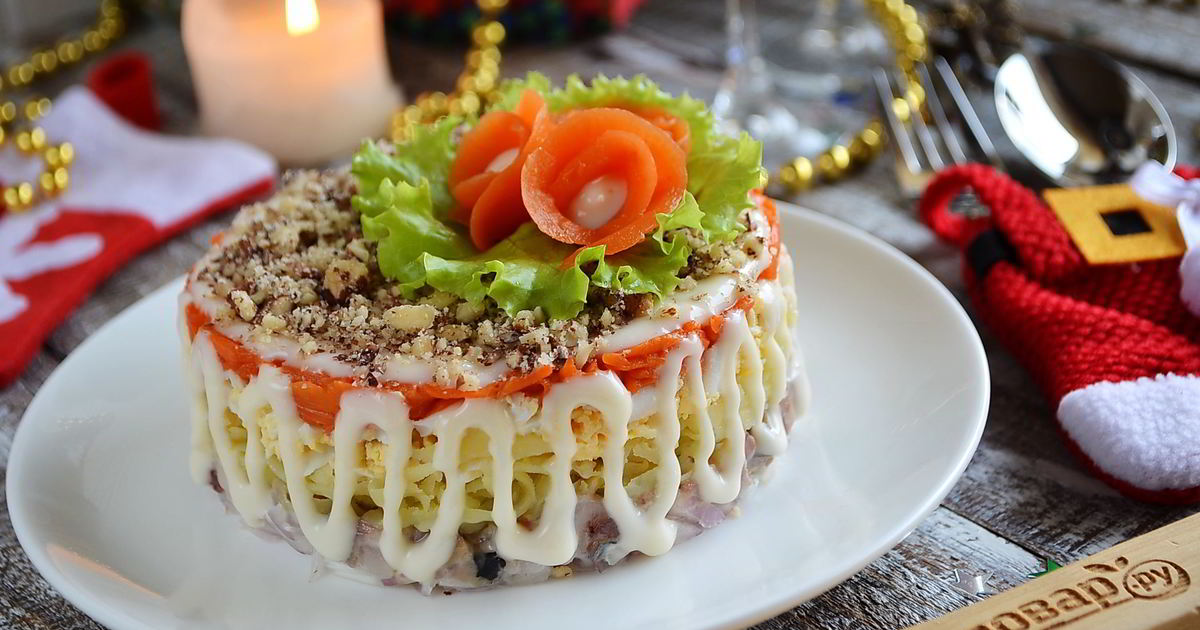 Салат фаворит рецепт с фото пошагово классический