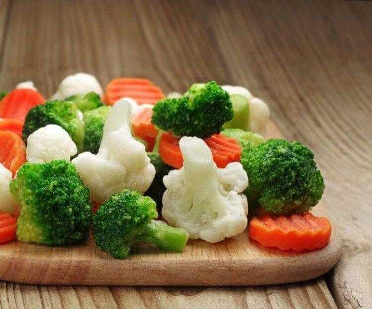 Лучшие способы заморозки овощей на зиму