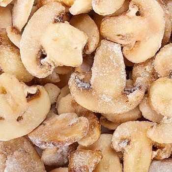 Как заморозить свежие грибы в домашних условиях - сроки и условия хранения