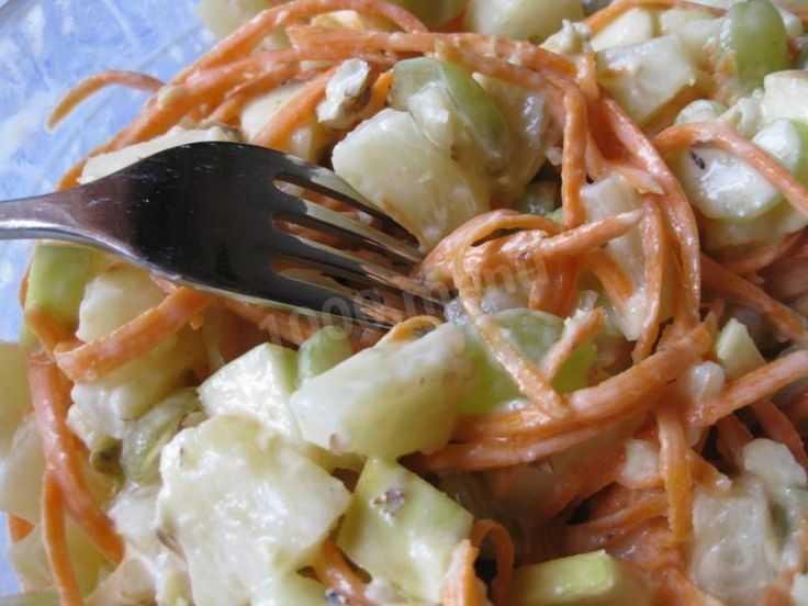 Салат из стеблевого сельдерея с яблоком: несколько вкусных рецептов