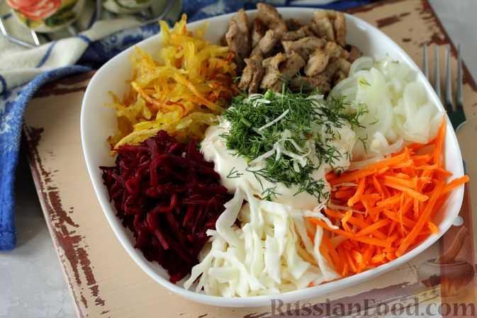Салат чафан » рецепты - готовим дома   «наобед.kz»