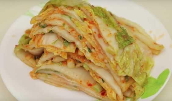 Салат из пекинской капусты по-корейски быстрого приготовления