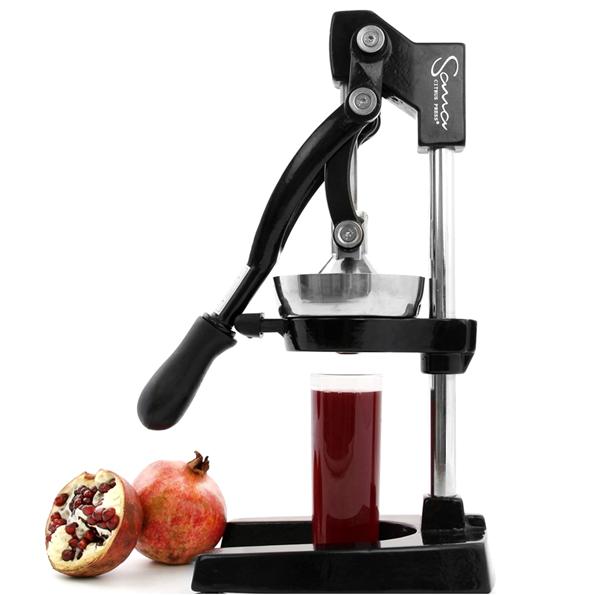 Как выдавить гранатовый сок с помощью соковыжималки, механического пресса, способ сделать хороший напиток