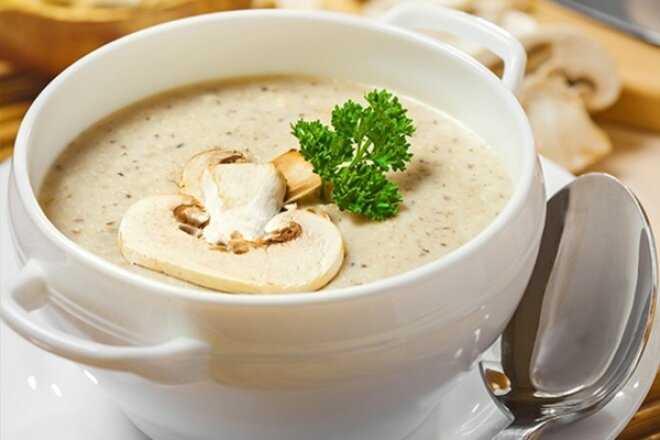 Крем суп из белых грибов – вкусно и полезно: рецепт с фото и видео