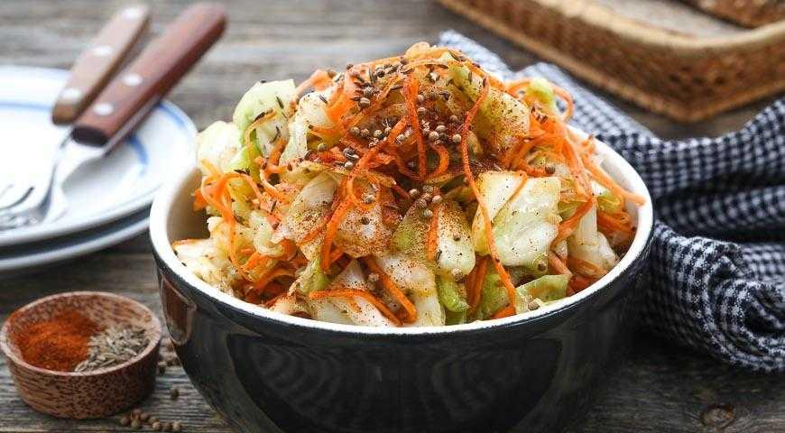 Капуста по-корейски быстрая и на зиму: вкусные рецепты в домашних условиях