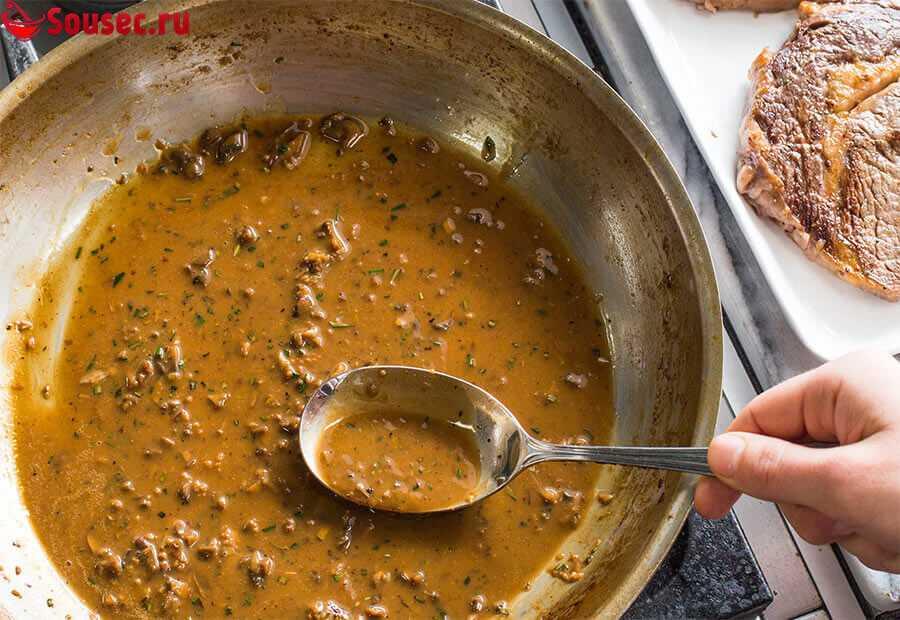 Как приготовить грибной соус из сухих грибов?