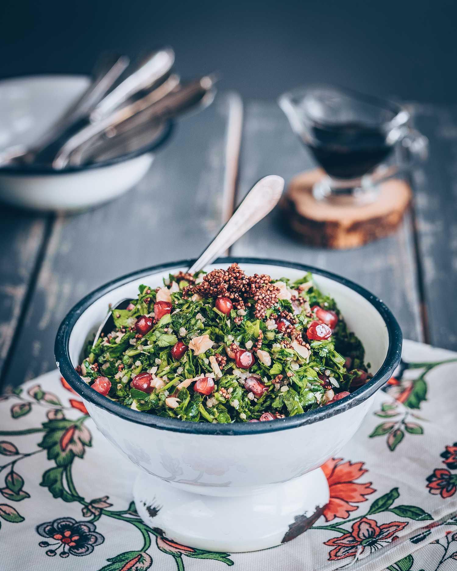 Табуле салат с булгуром классический
