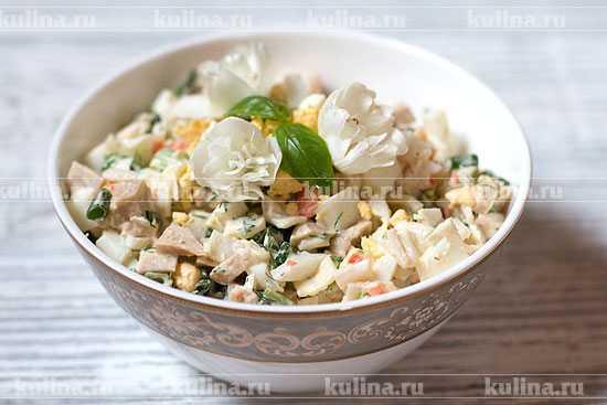Салат морская звезда | 4 вкусных рецепта приготовления