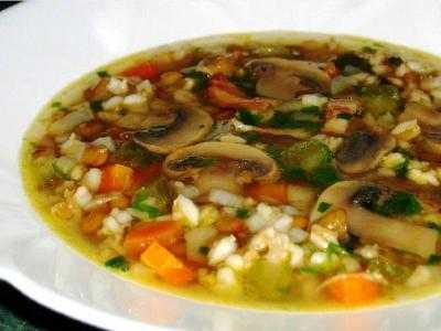 Грибной суп из замороженных грибов белых рецепт