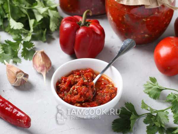 Армянская аджика - пошаговый домашний рецепт